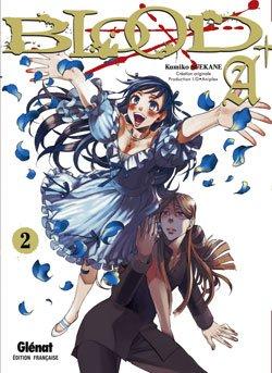 couverture, jaquette Blood+  A 2  (Glénat Manga)