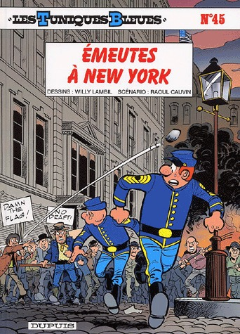Les tuniques bleues # 45
