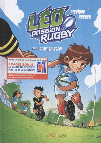 Léo passion rugby édition simple