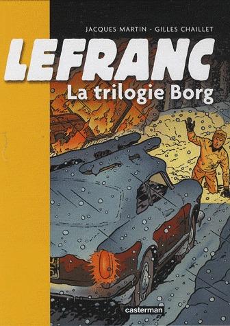 Lefranc édition Trilogies