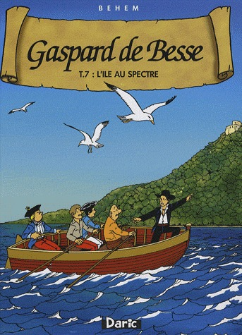 Gaspard de Besse 7 - L'île au spectre