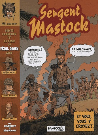 Sergent Mastock édition simple
