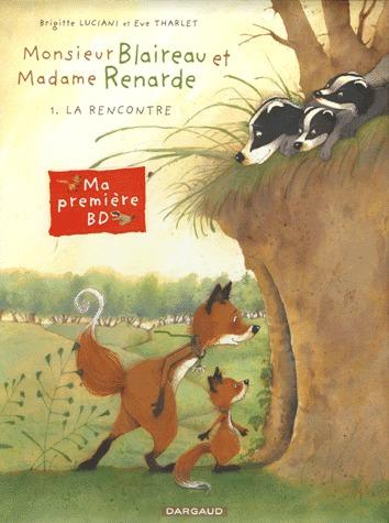Monsieur Blaireau et Madame Renarde édition simple