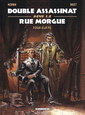 Double assassinat dans la rue Morgue, d'Edgar Allan Poe édition simple