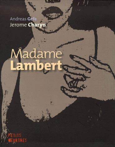 Madame Lambert édition simple