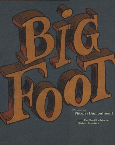 Big foot édition coffret