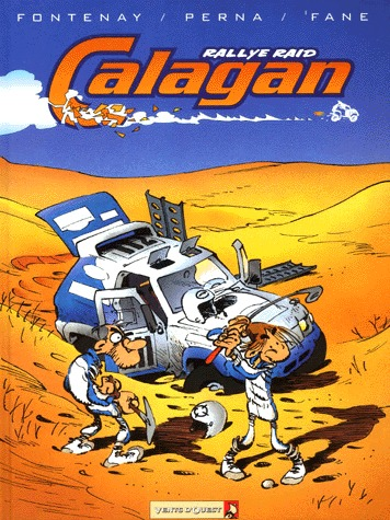 Calagan, rallye raid édition simple