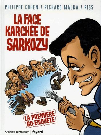 La face karchée de Sarkozy édition simple