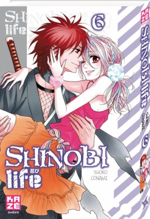 couverture, jaquette Shinobi Life 6  (kazé manga) Manga