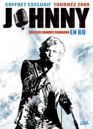 Les chansons de Johnny en BD édition coffret tournée 2009
