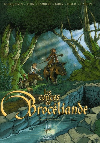 Les contes de Brocéliande 3 - Les dames de Brocéliande