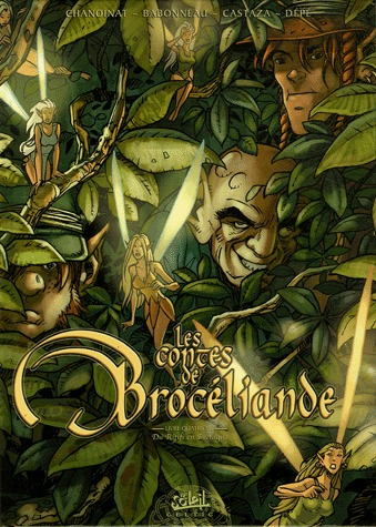Les contes de Brocéliande 4 - Du rififi en Bretagne