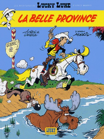 Les aventures de Lucky Luke édition simple