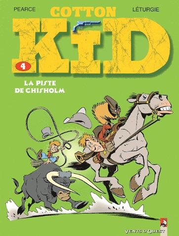 Cotton Kid 4 - La piste de Chisholm