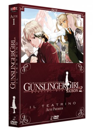 Gunslinger Girl - Il Teatrino édition BOX