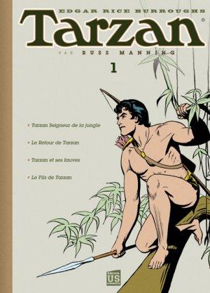 Tarzan par Russ Manning édition TPB Hardcover (cartonnée)