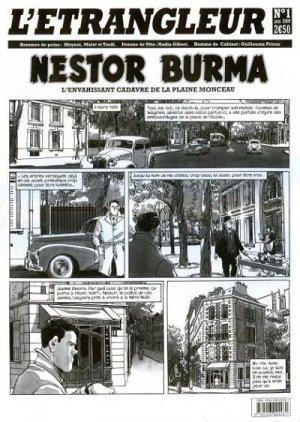 L'étrangleur - Nestor Burma - L'envahissant cadavre de la Plaine Monceau édition simple