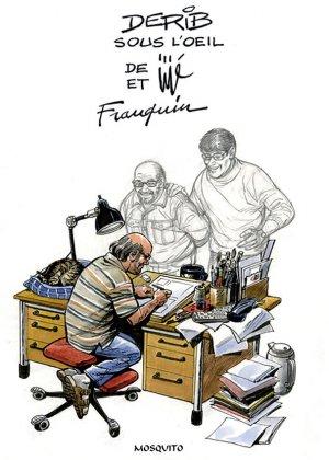 Derib sous l'oeil de Jijé et Franquin édition simple