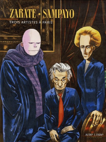 Trois artistes à Paris édition Simple