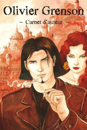 Carnet d'auteur - Olivier Grenson édition limitée