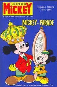 Mickey Parade édition Simple