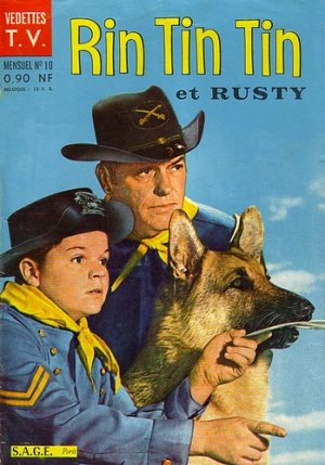 Rintintin et Rusty (vedettes TV) édition Simple