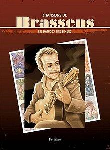 Chansons de Brassens en bandes dessinées édition simple