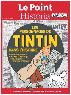Les personnages de Tintin dans l'Histoire édition Simple