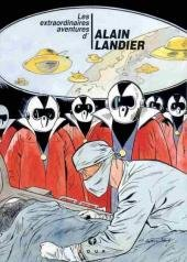 Les extraordinaires aventures d'Alain Landier édition Simple