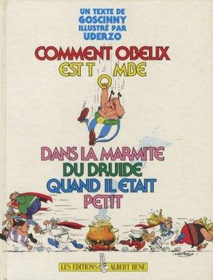 Comment Obélix est tombé dans la marmite du druide quand il était petit édition simple