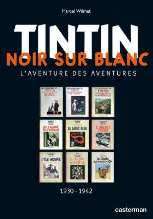 Tintin - Noir sur blanc édition simple