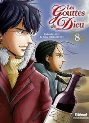 couverture, jaquette Les Gouttes de Dieu 8  (Glénat Manga)