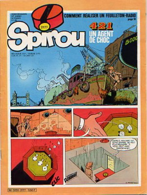 Album Spirou (recueil) # 2177