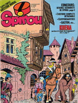 Album Spirou (recueil) # 2194