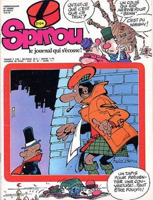 Le journal de Spirou # 2104