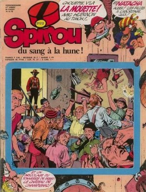 Album Spirou (recueil) # 2122