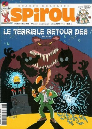 Album Spirou (recueil) # 3658