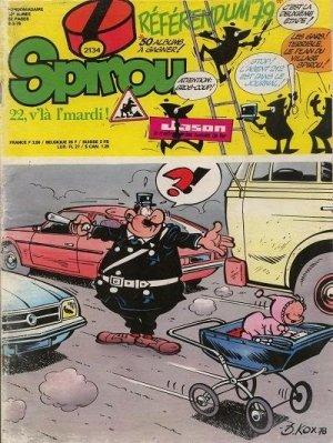Album Spirou (recueil) # 2134