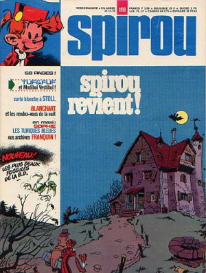 Album Spirou (recueil) # 1910