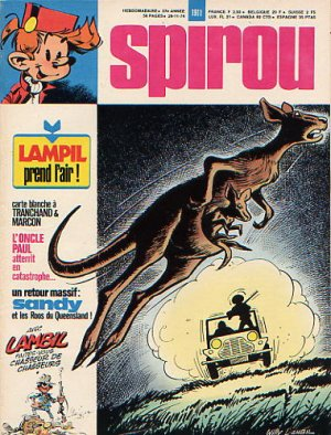 Le journal de Spirou # 1911