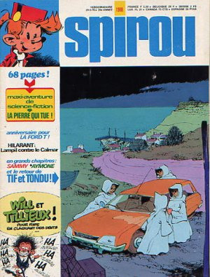 Album Spirou (recueil) # 1988