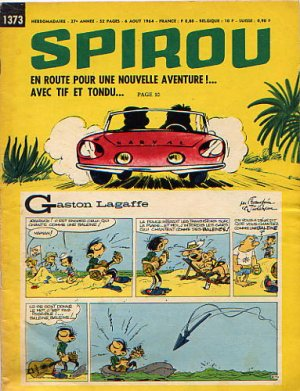 Album Spirou (recueil) # 1373
