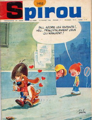 Le journal de Spirou # 1452