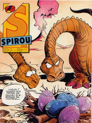 Album Spirou (recueil) # 2442