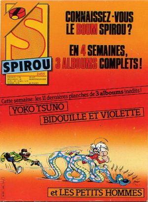 Album Spirou (recueil) # 2455