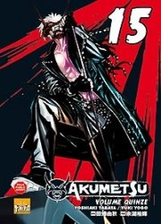 couverture, jaquette Akumetsu 15  (Taifu Comics)