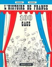 L'histoire de France en 100 gags édition Simple