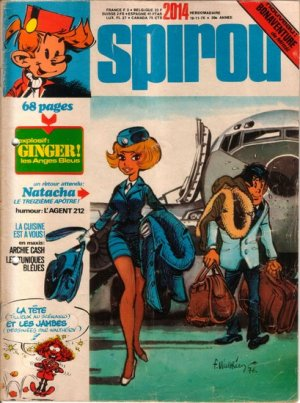 Album Spirou (recueil) # 2014