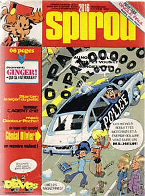 Le journal de Spirou # 2016