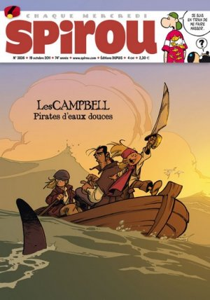 Le journal de Spirou # 3836